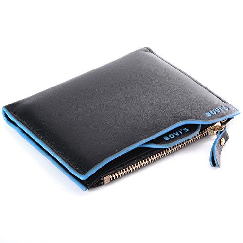 XCSOURCE Uomo Portafoglio Pelle Borsellino Carta Porta Portamonete Wallet Purse MT201