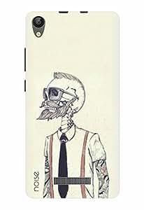 Noise Designer Printed Case / Cover for Lava P7+ / Patterns & Ethnic / Skull Design