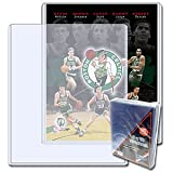 BCW 8 X 10 - Topload Holder (25 Holders/Pack) - Photo, Picture, Photograph Display - Baseball, Football, Basketball...