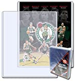 BCW 8 x 10 - Topload Holder (25 Holders/Pack) - Photo, Picture, Photograph Display - Baseball, Football, Basketball, Hockey, Golf, Single Sports Cards Top Load - Sportcards Card Collecting Supplies