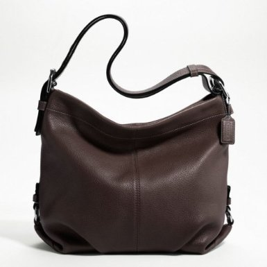 Coach Leather Duffle Purse Convertible Crossbody Bag Mahogany F15064