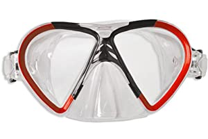 Buy Dolfino Premier Adult Swim Mask (15+) Red by Dolfino Premier