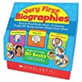 Scholastic Very First Biographies, Pre K-K (0545172802)