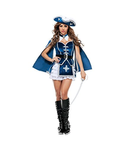 All for You Musketeer Adult Womens Costume