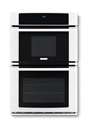 """Electrolux EW27MC65JW 27"""" Wall Oven and Microwave Combination with Wave-Touch® Controls and Luxury-Gli, White"""