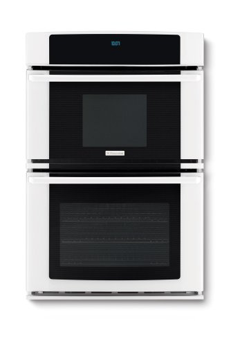 "Electrolux Ew27Mc65Jw 27"" Wall Oven And Microwave Combination With Wave-Touch® Controls And Luxury-Gli, White"