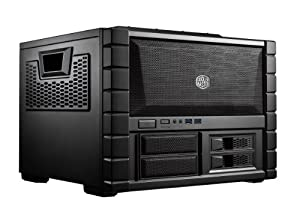 Cooler Master HAF XB - High Air Flow Test Bench and LAN Box Mid Tower Computer Case with ATX Motherboard Support