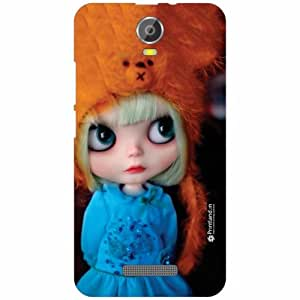 Micromax Canvas Juice 2 Back Cover - Silicon See Me Designer Cases