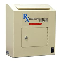Protex RX-164 Prescription Drugs Drop Box
