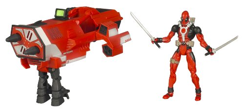 Buy Low Price Hasbro Wolverine Deluxe Action Figures – DEAD POOL with CANNON (B0028Y5SSA)