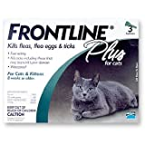 Frontline Plus for Cats, All Weights, 3 Month