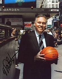 Mike Dantoni Autographed New York Knicks Basketball 8x10 Photo - Autographed NBA... by Sports+Memorabilia