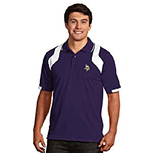 Minnesota Vikings Fusion Polo (Team Color) by Antigua