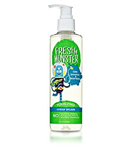 Fresh Monster Kids Shampoo & Body Wash, Ocean Splash (8oz) *Toxin-free*