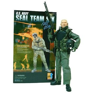 "1/6 Scale Dragon Models US Navy Seal Team Six "" Rick """