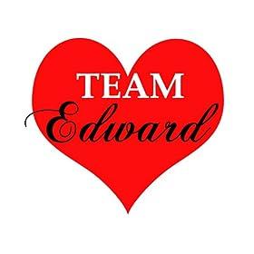 Team Edward Temporary Tattoos - 6 Tats per Pack