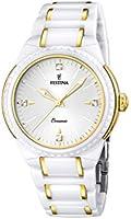Festina - F16698/2 - Montre Femme - Quartz Analogique - Bracelet Céramique Blanc