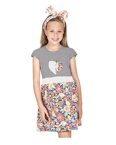 Sunshine Swing Kid's Floral Print Dress