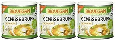 Bio Vegan Gemüsebrühe 150g Bio Würz-Sauce, 3er Pack (3 x 150 g) von Bio Vegan - Gewürze Shop