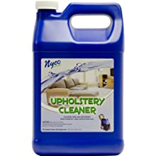 Nyco NL90380 Cleans and Deodorizes Upholstery Cleaner, 3.0 - 6.0 pH, 1 Gallon Bottle (Case of 4)