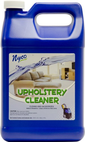 Nyco Products Nl90380 Cleans And Deodorizes Upholstery Cleaner, 3.0 - 6.0 Ph, 1 Gallon Bottle (Case Of 4) front-199973