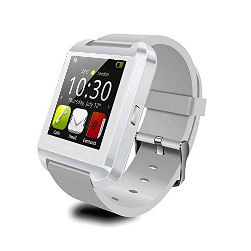 Vktech® U8 Bluetooth Smart Wrist Watch Bracelet Waterproof 3S For Samsung Iphone Us Plug (White)