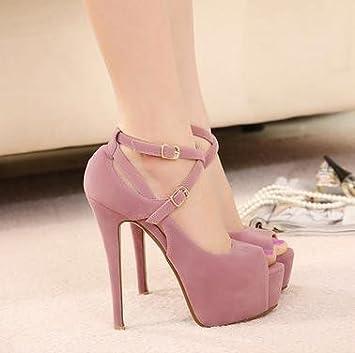 Amazon.com : Shoes pumps red bottom heels floor materials, muscle ...