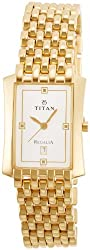 Titan Regalia Analog White Dial Mens Watch - NE1927YM04