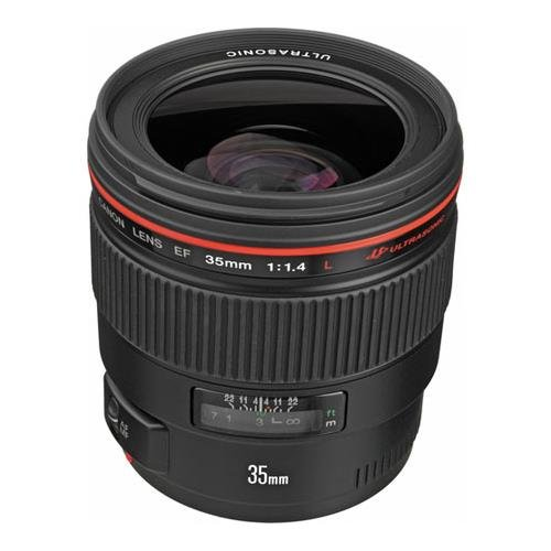 Canon EF 35mm f/1.4L USM Wide Angle Lens for Canon SLR Cameras - Fixed (35 Mm Lens For Canon 70d compare prices)