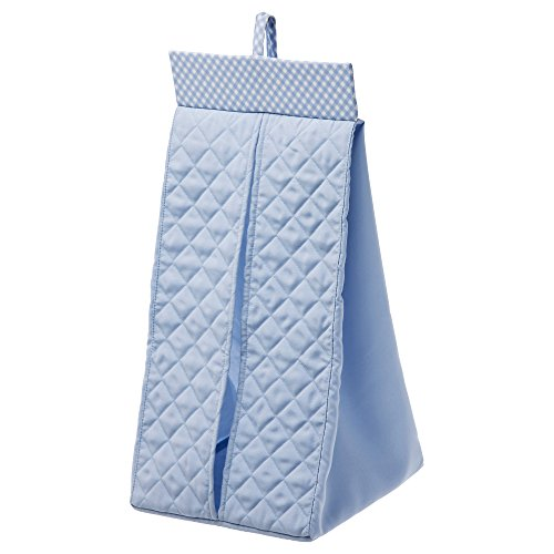 Ikea Quilted Hanging Diaper Stacker (Blue) front-27744