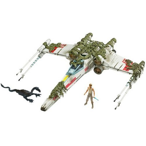 Star Wars Saga Collection Exclusive X Wing (Dagobah) Vehicle