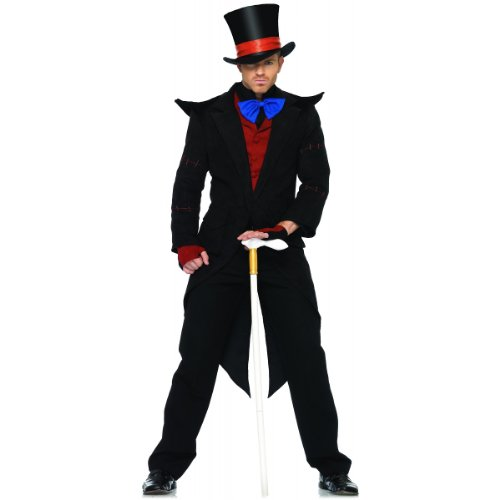 Evil Mad Hatter Costume - X-Large - Chest Size 53