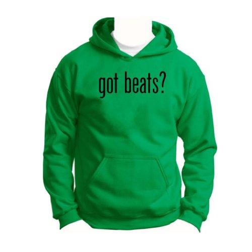 Got Beats Youth Hoodie Sweatshirt Small Green