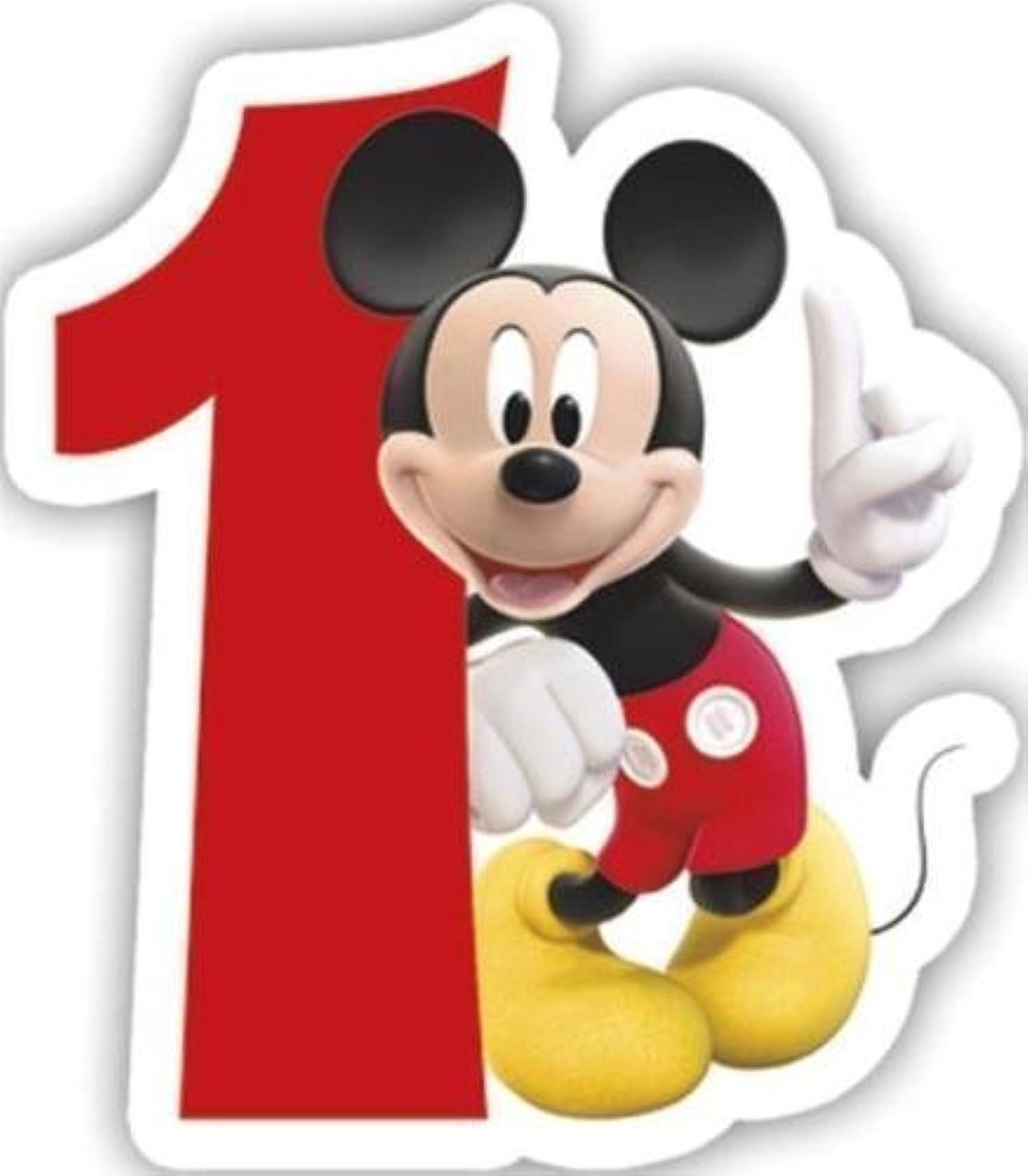 Mickey N Minnie Birthday Cake
