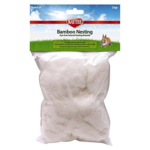 Kaytee Natural 100% Rayon derived from Bamboo Nesting Material, 25 Grams
