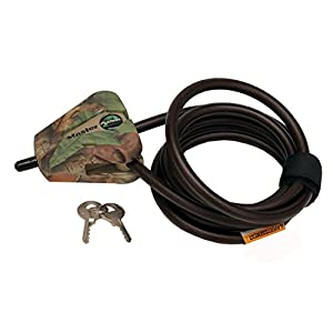 Master Lock 8418KADCAM-TMB Python Adjustable Locking Cable, Braided Steel, Camo Colored, 6-Feet x 5/16-inch