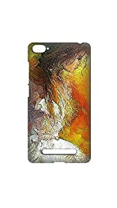 Beautiful Woman Abstract Pattern Printed Back Case/Cover For XIAOMI Mi4i