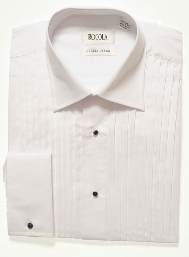 Rocola Pleated Front Dress Shirt - 17