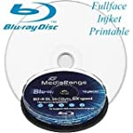 10 BLU-RAY - Mediarange BD-R DL 50 Gb...