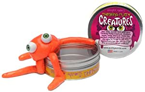 Crazy Aarons Putty World Crazy Aarons Putty World Putty Creature Orange Putty