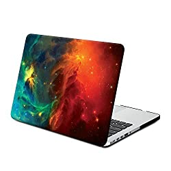 Gmyle Hard Case Print Frosted (Nebula Pattern) for 13 inch MacBook Pro with Retina Display