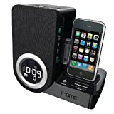 iHome-iP41-Rotating-Alarm-Clock-for-iPod-and-iPhone-Black
