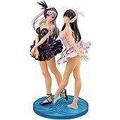 SKYTUBE T2アート☆ガールズ 白のオデット & 黒のオディール 1/6スケール PVC製 塗装済み 完成品 フィギュア