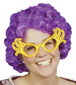Willers Dame Edna Wig (Dame Edna Costumes)