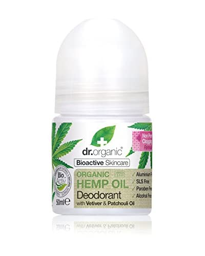 DR ORGANIC Desodorante Roll-On Aceites De Cáñamo 50 ml