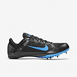 Nike Zoom Rival MD 7 Unisex Track Spike Running Shoe (Men 10 Women 11.5, Black/Photo Blue)