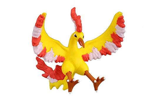 """Takaratomy Official Pokemon X and Y MC-052 2"""" Moltres Action Figure"""