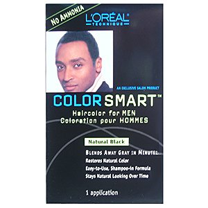 Amazon.com: Loreal Color Smart Haircolor For Men Natural Black