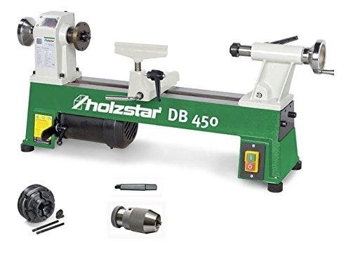 Drechselbank-DB-450-im-Set-mit-4-Backenfutter-Set-1MorsekonusSchnellspannbohrfutter