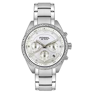 Fossil Unisex CH2542 Boyfriend Collection Chronograph Stainless Steel Watch